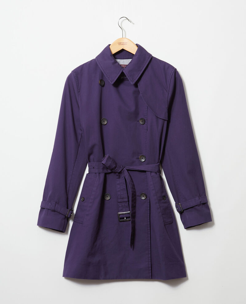 Timeless trench coat Bleu marine Isore