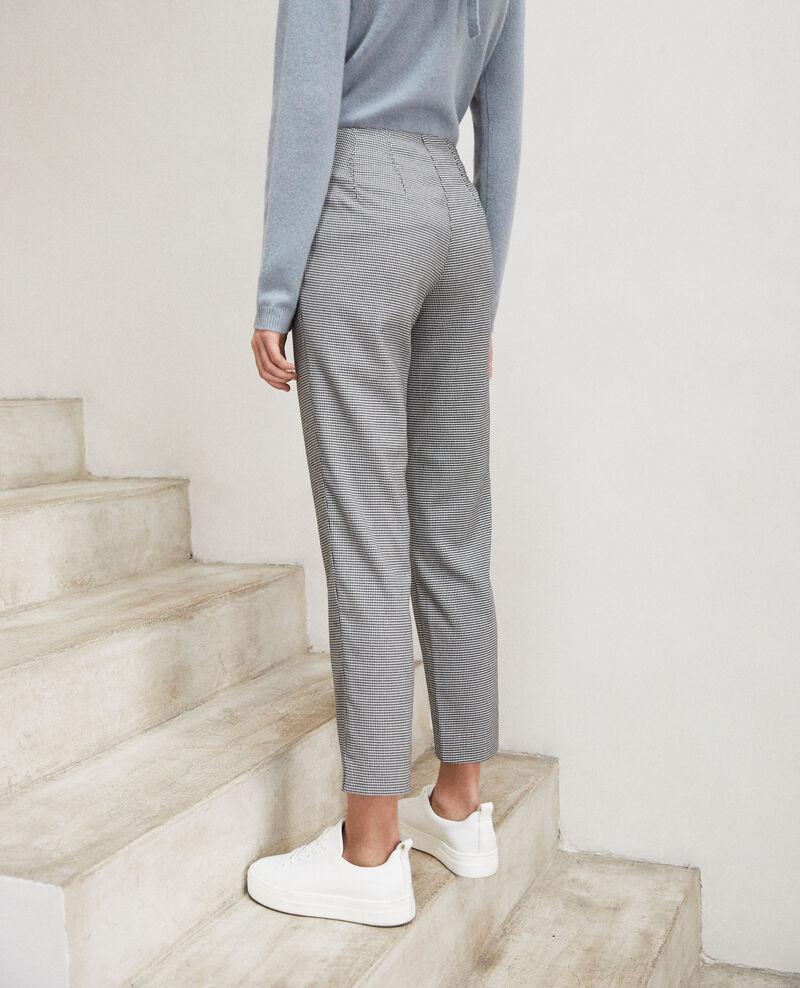Straight-leg trousers Champagne/noir Izipe