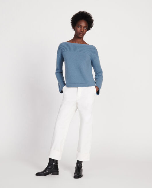 Wool and cashmere jumper BLUESTONE
