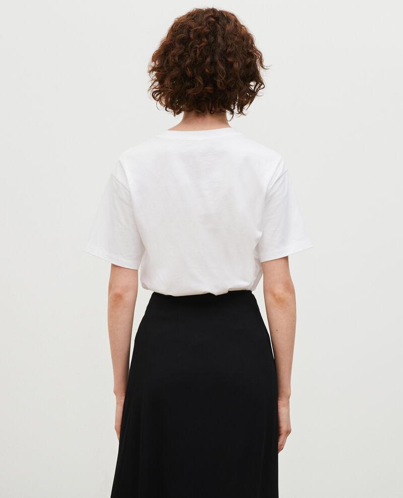 Short-sleeve cotton t-shirt Treillis Mariette