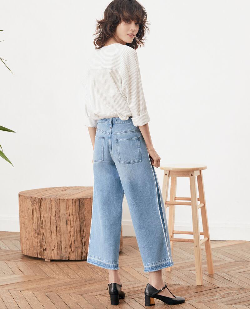 Cropped jeans Vintage wash Frotripe