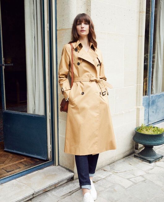 Timeless trench coat  ICED COFFEE