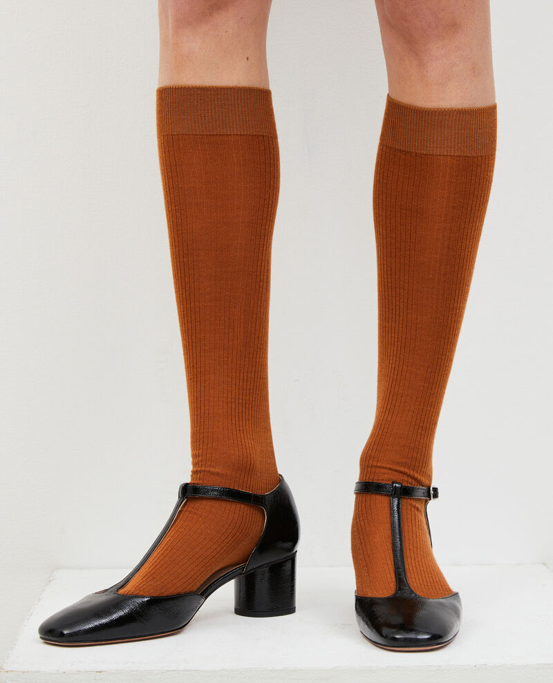Patent leather T-bars  Black beauty Megeve