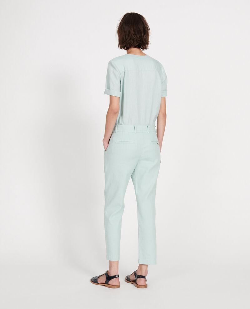 Linen trousers Blue haze Laiguillon