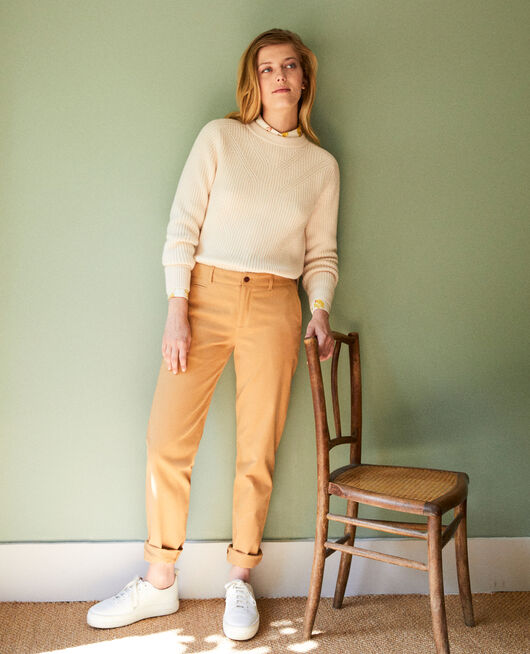 Straight-leg trousers ICED COFFEE
