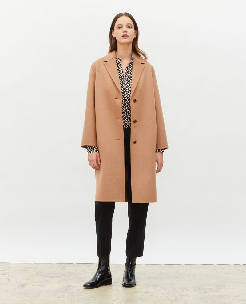 Wool coat Latte Maclas