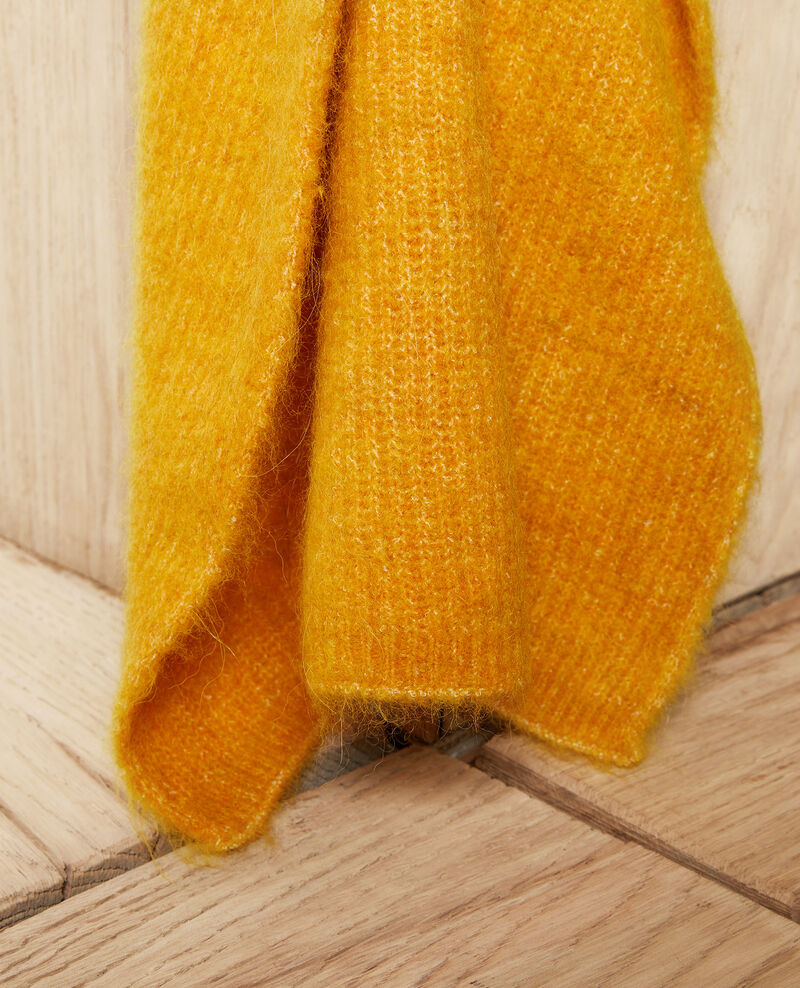 Fluffy scarf Spicy mustard Jecou
