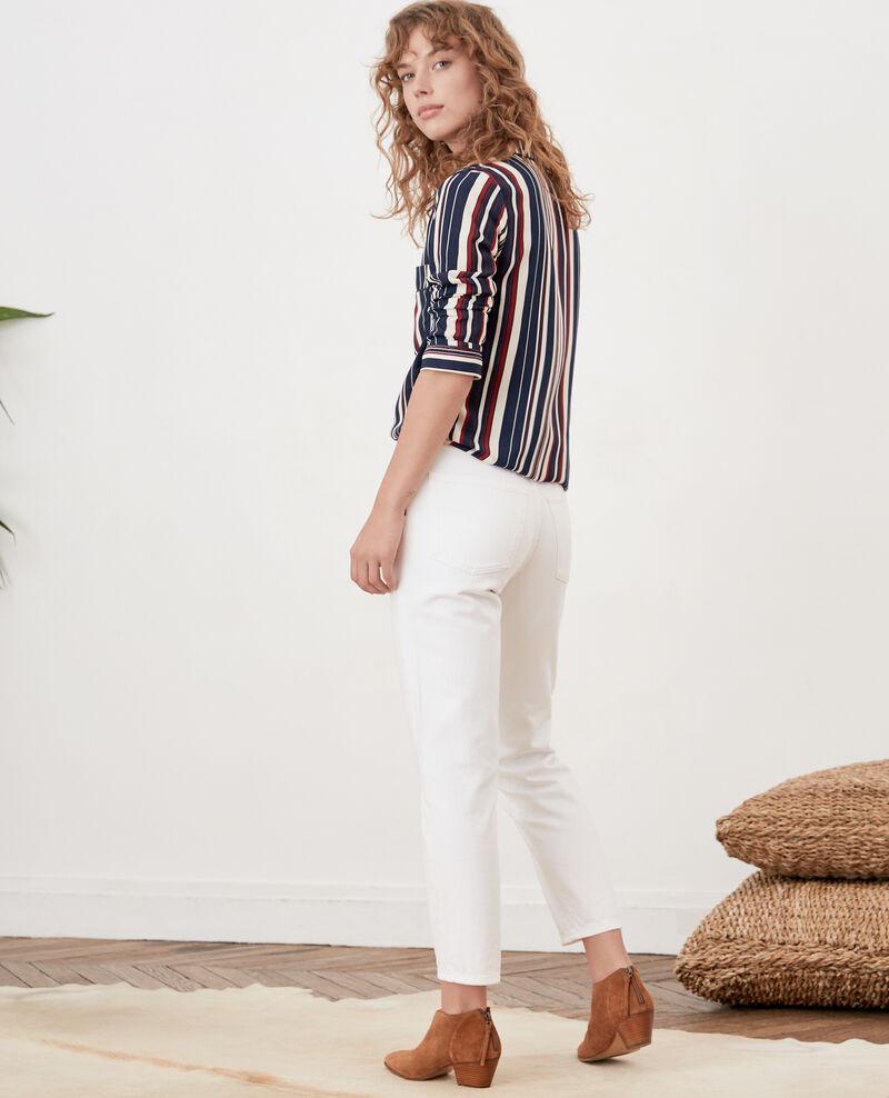 Vintage fit jeans Blanc Farrago