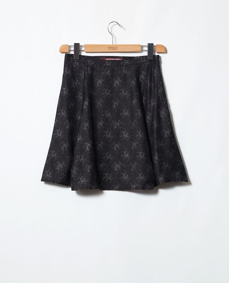 A-line skirt Hurly burly noir Ilinze
