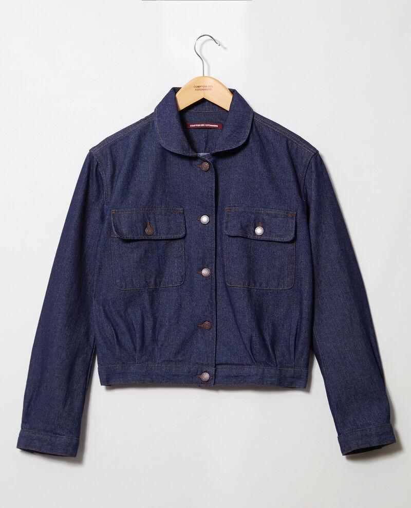 Denim jacket Blue denim Ikebouna