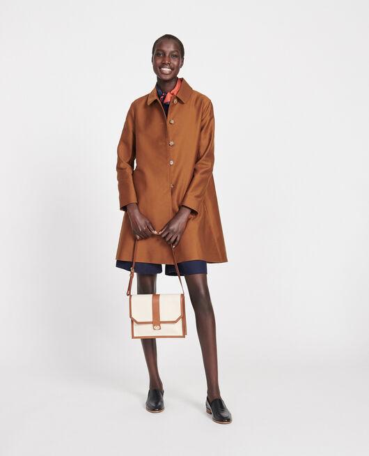 Cotton overcoat Marron