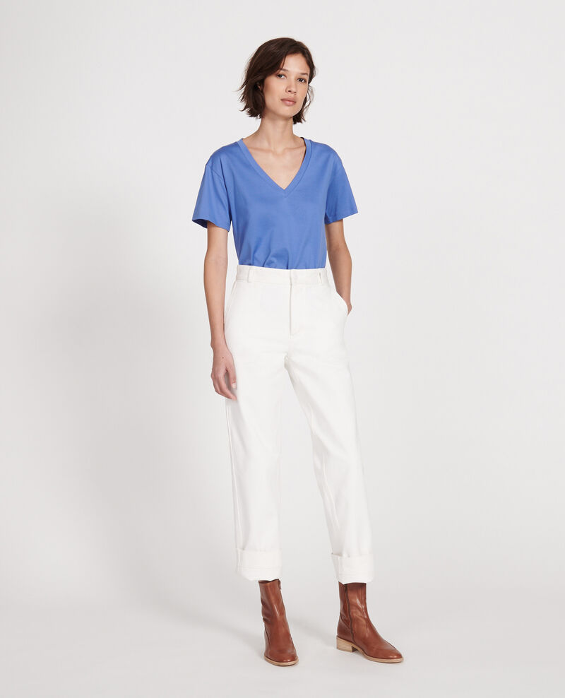 Egyptian cotton t-shirt Amparo blue Laberne