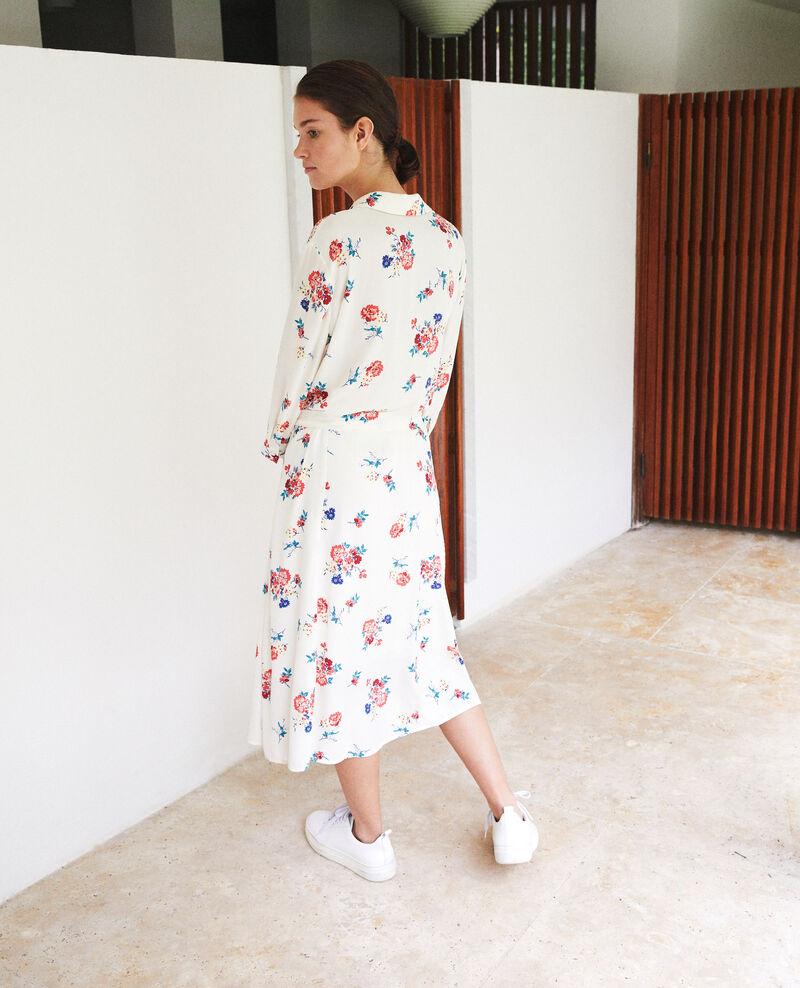 Mid-length dress White Fidji