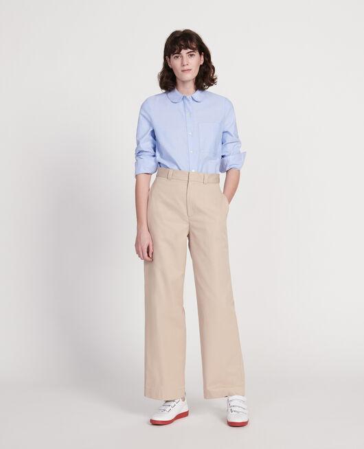 Cotton shirt  CHAMBRAY BLUE