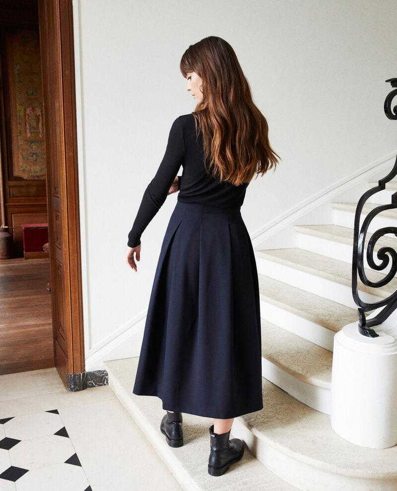Mid-length skirt Dark navy Jaja