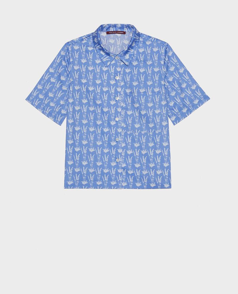 Cotton shirt Moyen lavande persian jewel Lavale