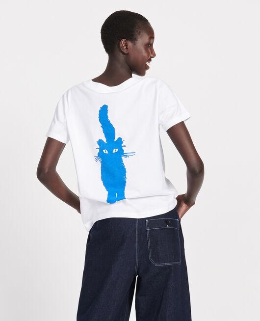 Cotton T-shirt PRINCESS BLUE