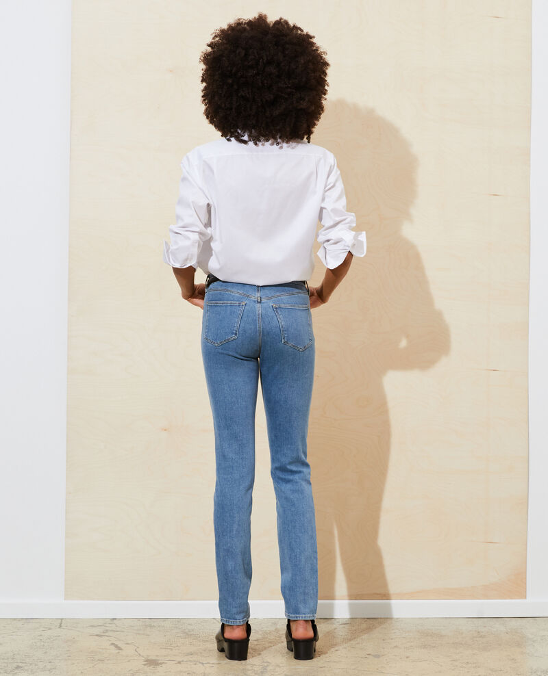 LILI - SLIM - 5 pocket jeans Denim medium wash Pandra
