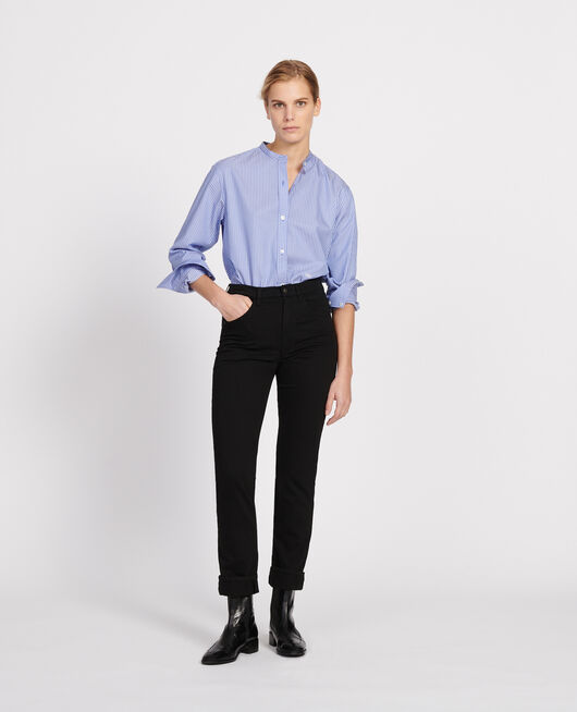 Straight-leg trousers BLACK BEAUTY