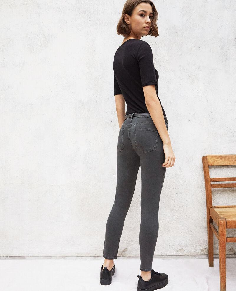Skinny fit jeans Dark green Ibonair