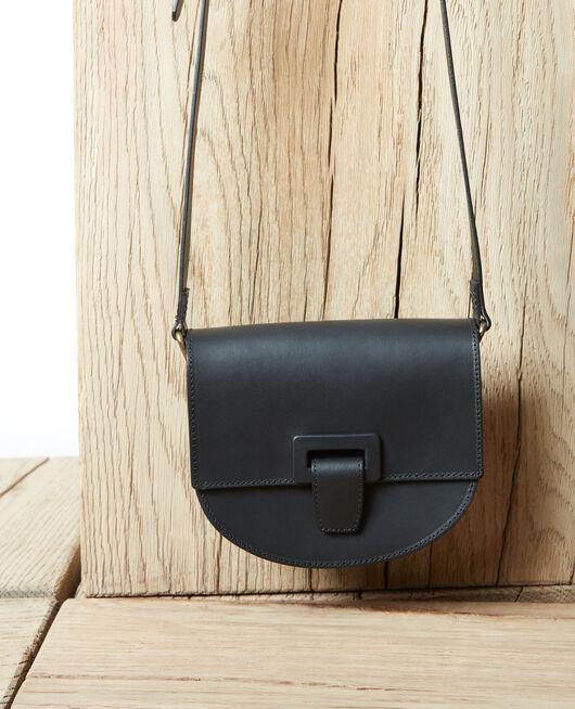Small half-moon bag NOIR