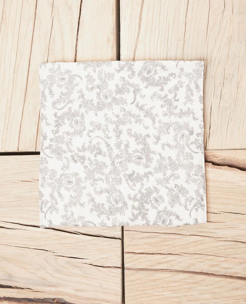 Printed scarf Bandana light beige Ispring