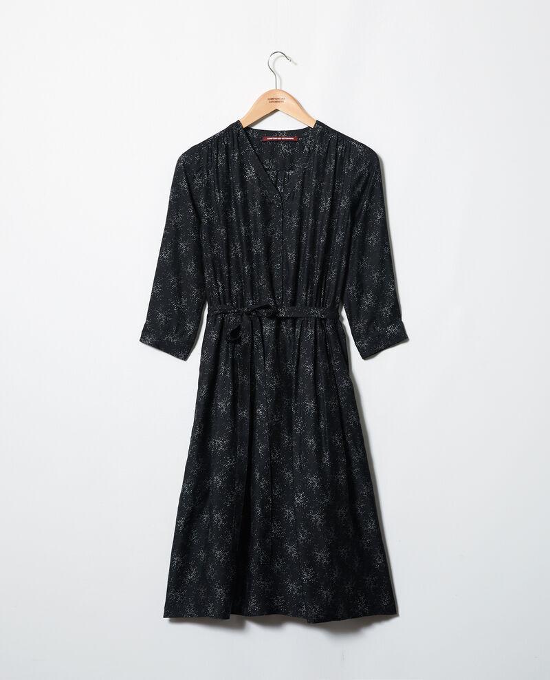 Midi dress Hurly burly noir Inepie