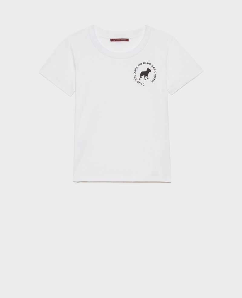 Cotton T-shirt Brilliant white Nyer