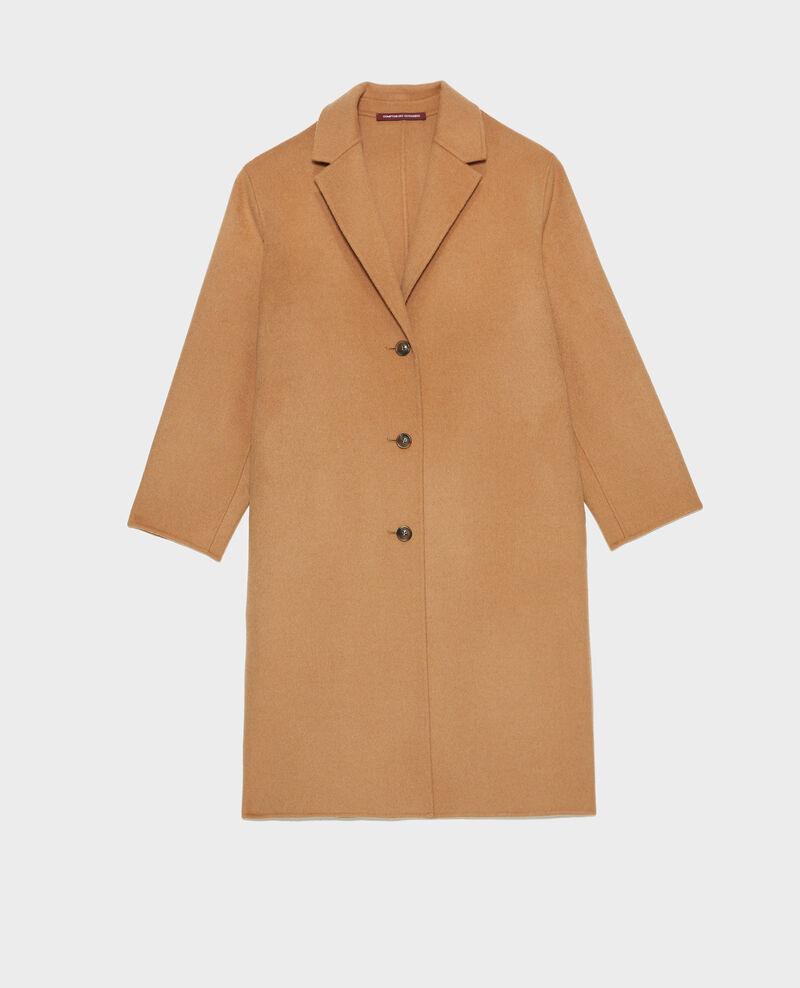 Wool coat Latte Maclas