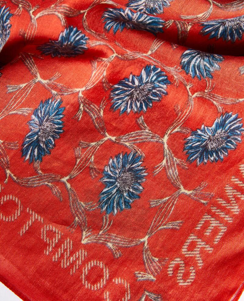 Printed cotton bandana Pureed pumpkin Nournesol