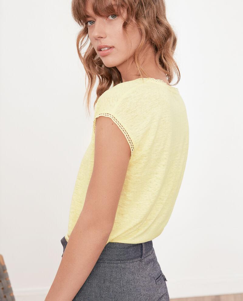Linen T-shirt Lemonade Fevian