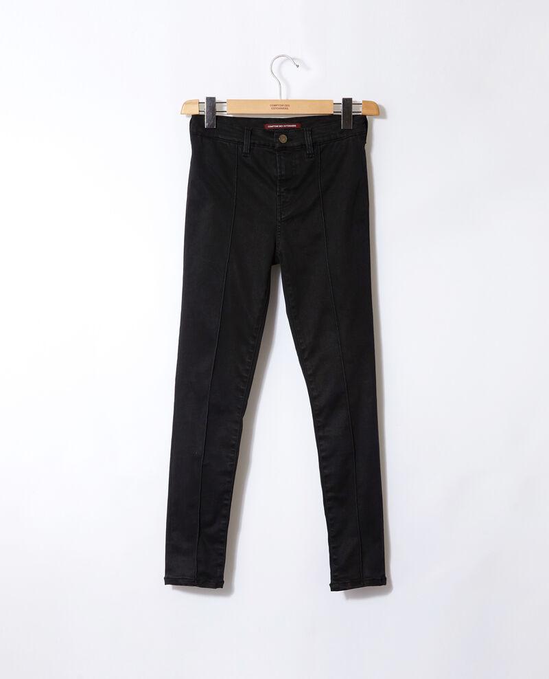 7/8 skinny cropped jeans Black Gireg