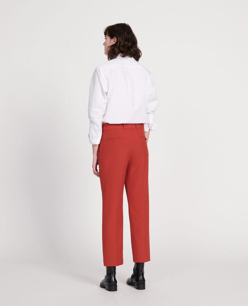 Smooth wool boyfriend trousers Ketchup Lalye