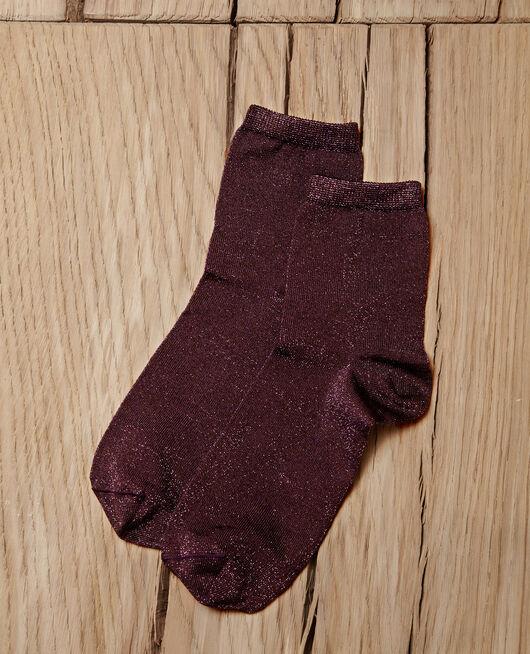 Lurex blend socks PARACHUTE PURPLE