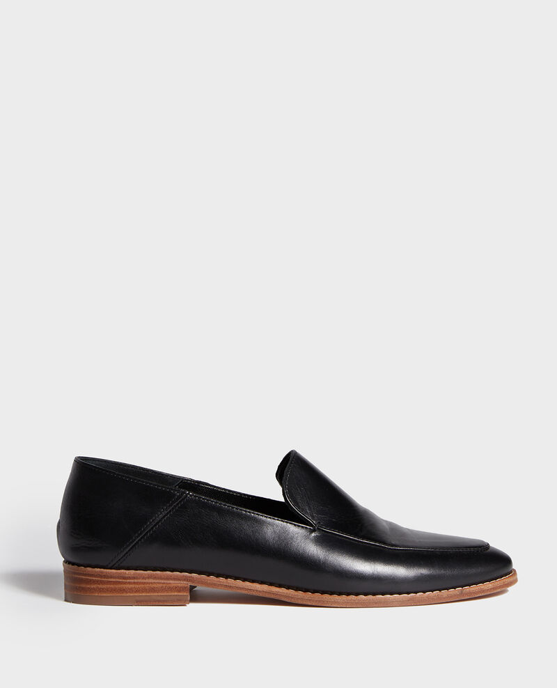 Leather mocassins Black beauty Legitime