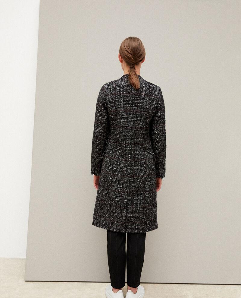 Straight fit coat Black Guislain