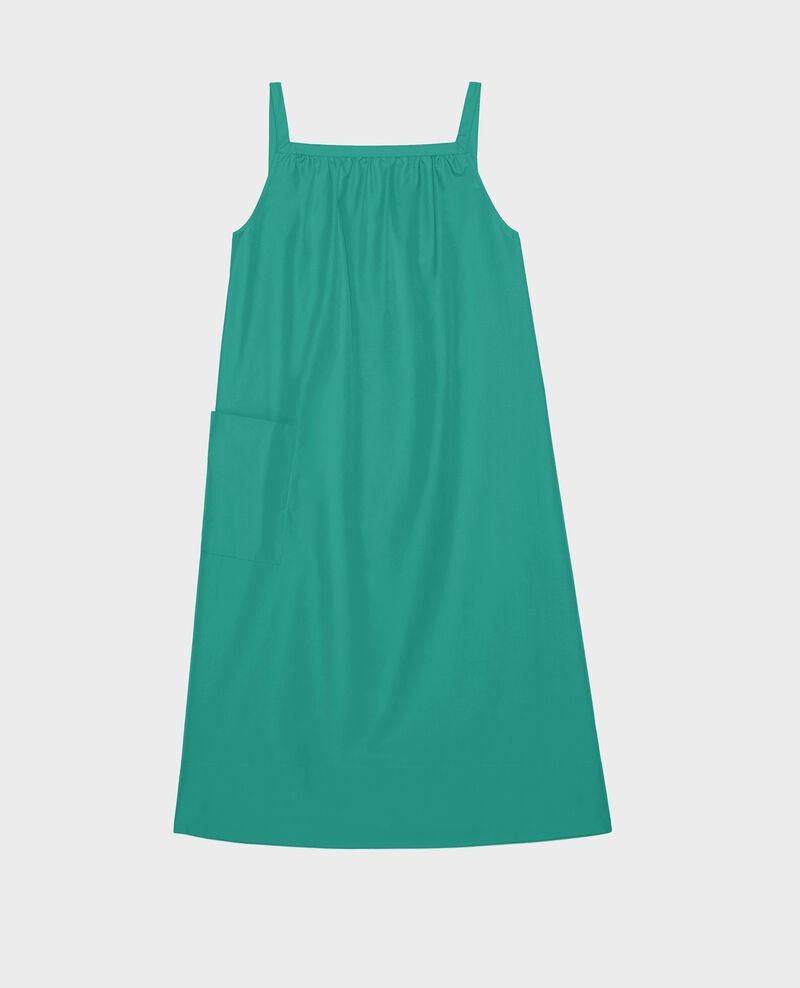 Cotton dress Golf green Lisle