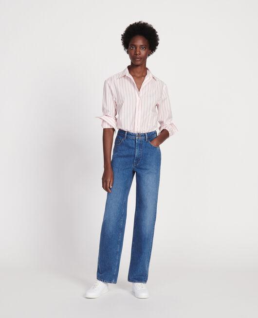 Classic poplin shirt POPELINE STRIPE3