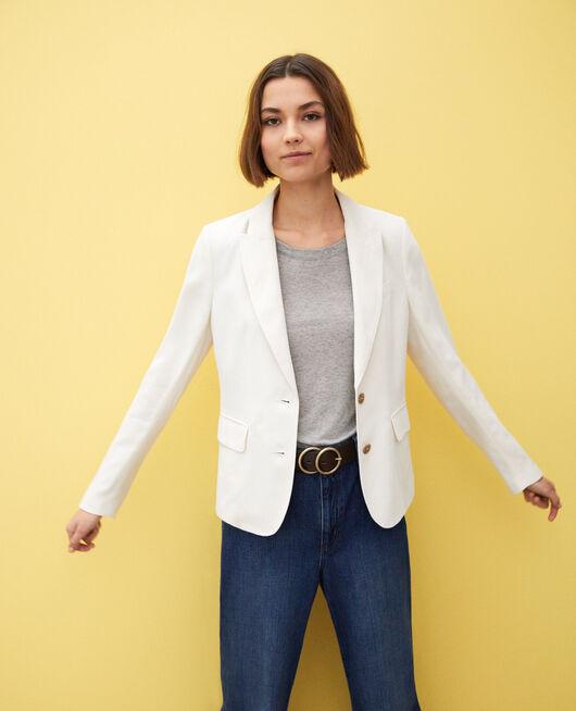 Classic blazer Blanc