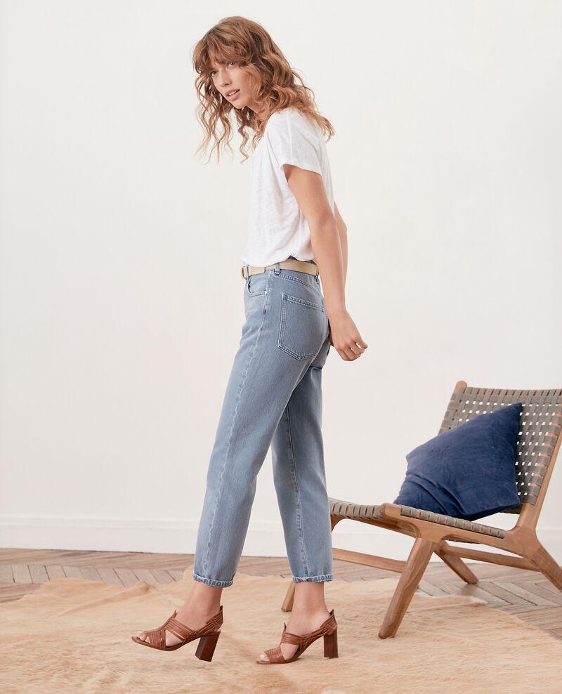 Vintage fit jeans Alpine blue Farrago