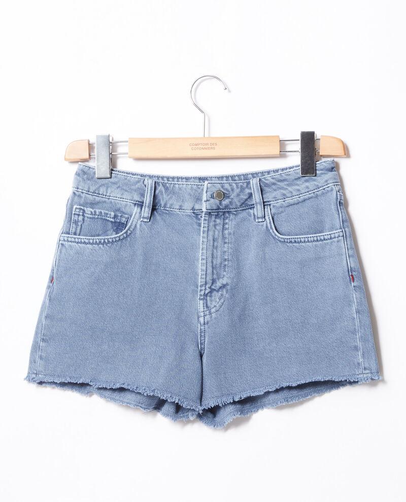Fringed shorts Alpine blue Fintashort