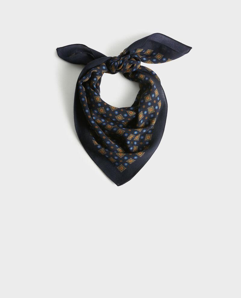Printed wool scarf Night sky Pavate