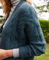 Cable-knit cardigan Scarab Joubix
