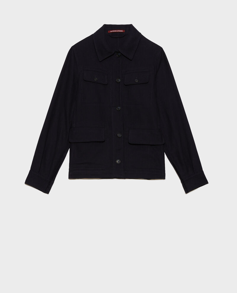 Cotton work jacket Night sky Nalon