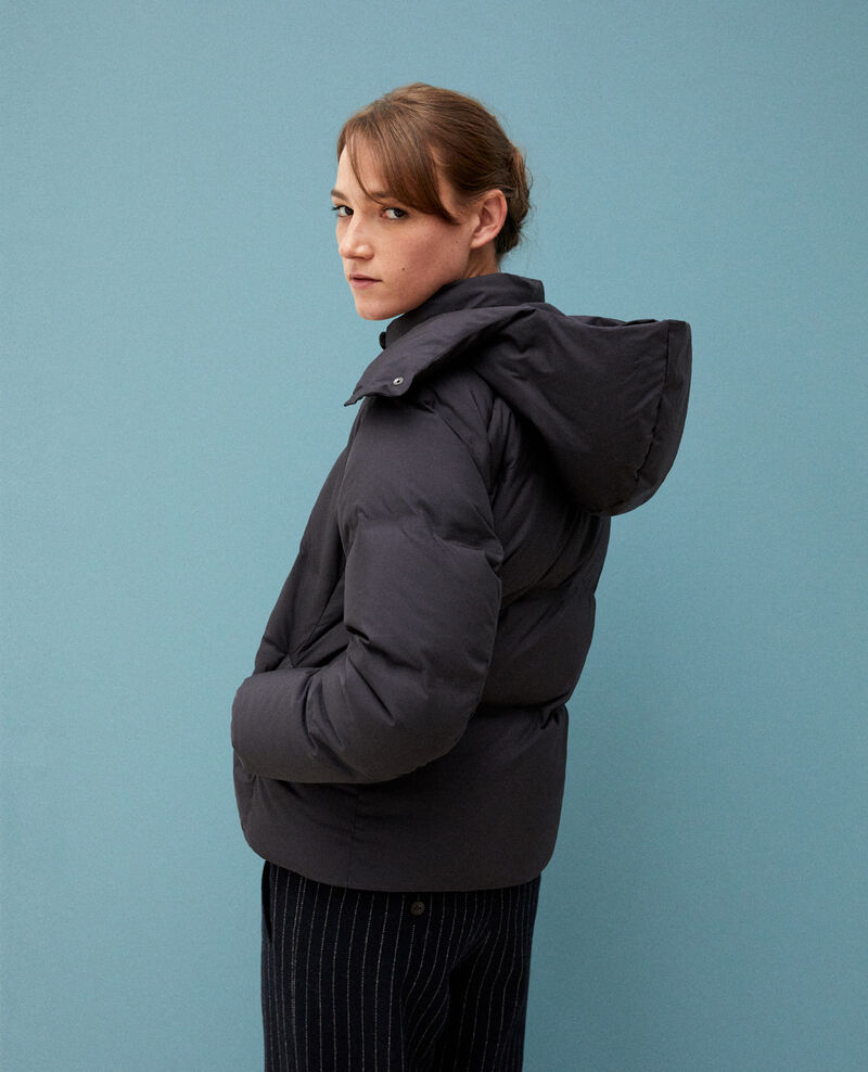 Cosy quilted down jacket  Noir Galidie