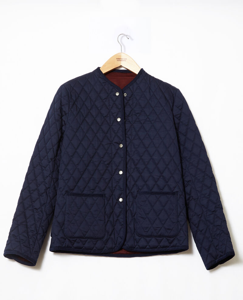Reversible short jacket Blue Godelieve