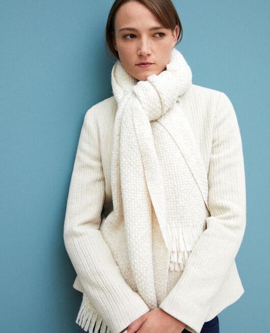 Big scarf White