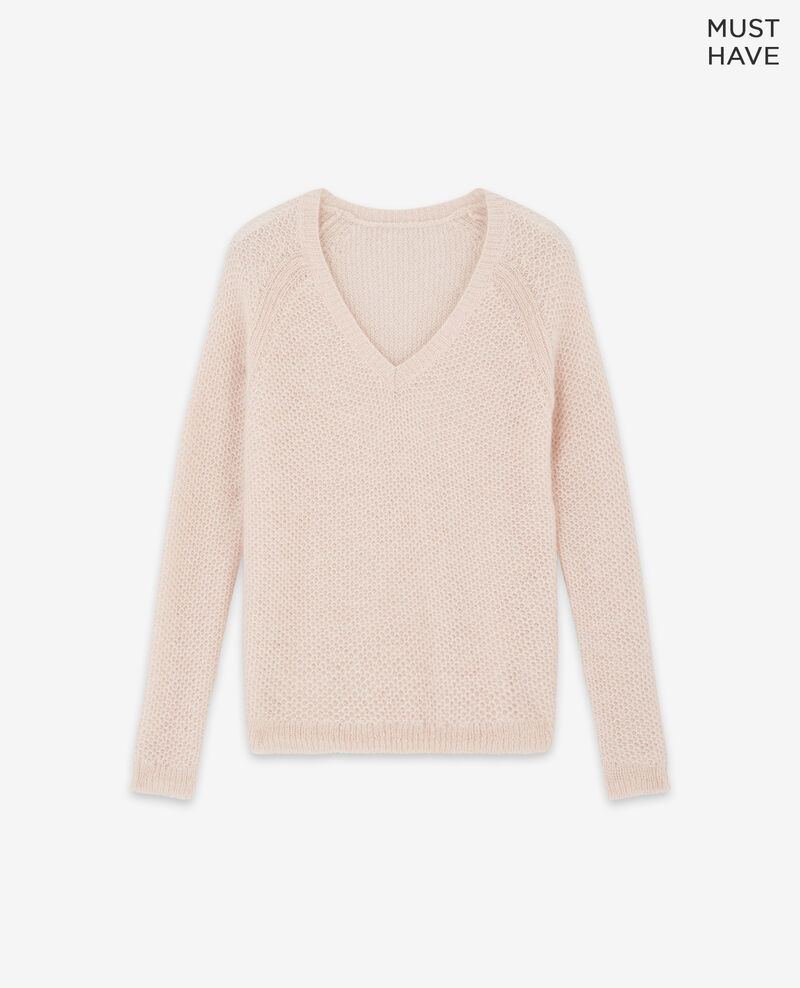 Mohair jumper Marshmallow/off white Dahbia