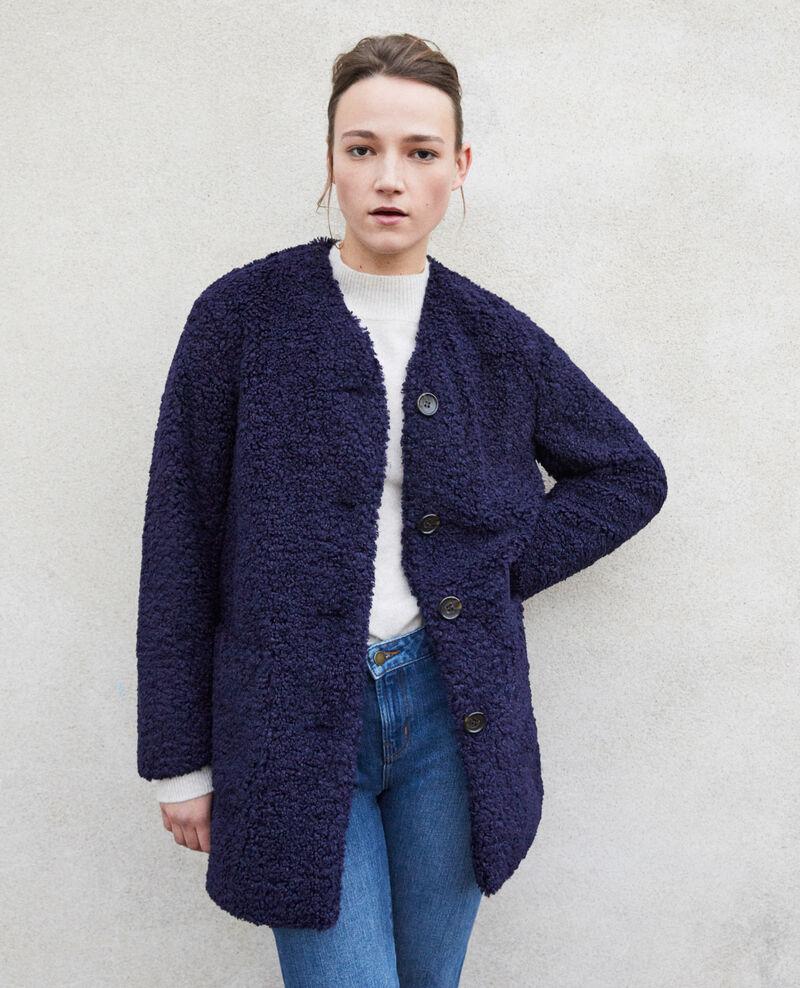 Faux fur coat Peacoat Germonti