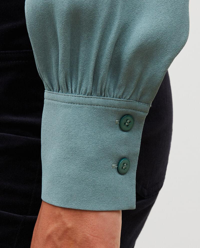Long-sleeve tie neck shirt  Treillis Meyrala